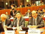 东盟与欧盟一致同意面向战略伙伴关系