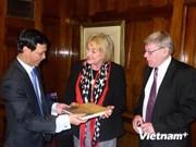 越南和澳大利亚加强各个领域的合作关系