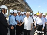 越共中央总书记阮富仲率团赴清化省调研