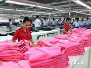 2014年前7个月越南纺织服装品出口额创汇110亿美元