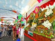 越南南方的水果造型艺术