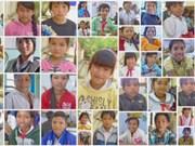 越南少数民族少年儿童图片展在得农省开展
