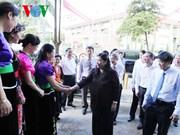 越南国会副主席视察越南之声广播电台西北地区常驻机构