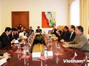 越南-捷克共和国司法部时隔25年后恢复直接关系