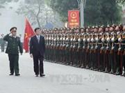 张晋创主席:首都司令部要提高战备能力做好保卫首都任务