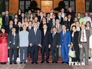 越南国家主席张晋创会见赴越参加亚欧新音乐节代表团