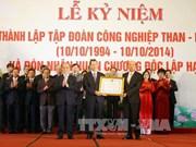越南煤炭矿产工业集团举行成立20周年庆典