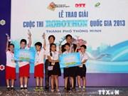 2014年越南全国小学生机器人大赛即将开赛