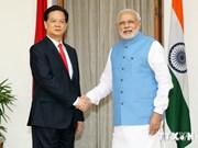 越南政府总理阮晋勇访印有助于深化双边传统友谊和战略伙伴关系