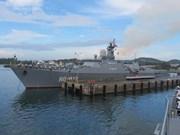 越南海军舰艇编队开始对东南亚三国进行访问
