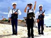 越南要求中国停止在越南长沙群岛十字礁进行的违法改造活动