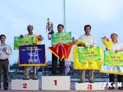 2014年朔庄省龙舟赛会圆满落幕