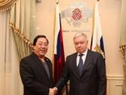 越南与俄罗斯加强劳务合作