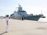 马来西亚与文莱两国海军举行联合军演