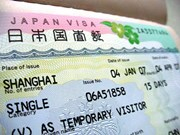 日本简化越南人一次性入境签证手续