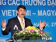 首届越南与匈牙利各所大学校长会议在河内举行