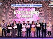 越南对47家国际旅行社予以表彰
