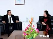 阮氏缘副主席会见出席法语国家组织首脑会议的各国领导人