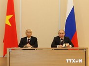 越共中央总书记阮富仲圆满结束对俄白两国的正式访问