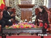 越南国会副主席丛氏放会见IPU秘书长