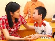 越南就自闭症患者进行政策咨询
