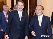 俄罗斯国家杜马主席圆满结束对越南的正式访问
