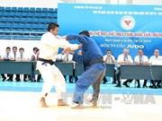 2014年第七届越南全国体育大会:柔道、皮划艇与摔跤比赛落下战幕