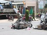 2014年前11个月越南全国交通事故起数明显减少