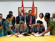 越南与古巴加强财政合作