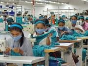 2014年柬埔寨纺织品与鞋类产品出口额达60多亿美元