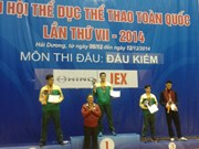 2014年第七届越南全国体育大会:击剑比赛开赛