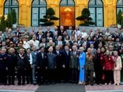 越南国家主席会见抗美救国时期被囚禁的革命老战士代表