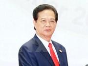 阮晋勇总理启程赴韩国出席东盟—韩国建立对话关系25周年纪念峰会