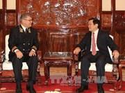 越南国家主席张晋创会见俄罗斯驻越南大使
