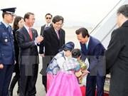 越南政府总理阮晋勇与韩国企业进行对话