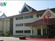越南援建老挝各工程正式交接