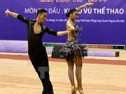 2014年第七届越南全国体育大会:体育舞蹈与象棋比赛冠军出炉
