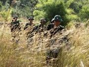 越老两国边防部队缔结为友好合作单位