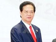 越南政府总理阮晋勇率团赴泰出席GMS第五次领导人会议
