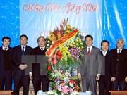 越南政府副总理走访北部福音教会和天主教河内总教区