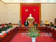 越南政府总理阮晋勇与中央公安党委举行工作会谈