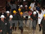 国际媒体纷纷对越南林同省隧道坍塌事故中被困人员成功获救作深度报道