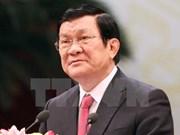 越南国家主席张晋创今日启程对柬埔寨进行国事访问