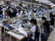 中国台湾企业在越南安江省动工兴建纺织厂