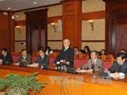 越共中央总书记阮富仲主持召开中央理论常务委员会会议