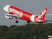 亚洲航空就客机失联事件展开搜救行动