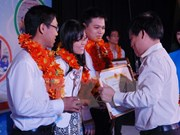 第16届尤里卡科研奖颁奖仪式在胡志明市举行