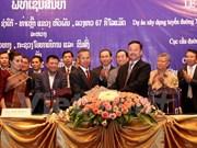越南协助老挝完善交通基础设施