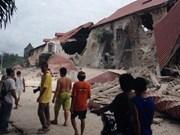 菲律宾发生里氏6.1级地震