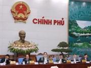 越南政府召开12月份例行会议